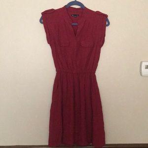 Red Polka Dot Gap Dress